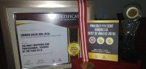 "STIKOM AMBON meraih penghargaan ""The Most Inspiring And Professional Leaders Of The Year 2018"" dalam kategori Indonesia Best Of Awards 2018."